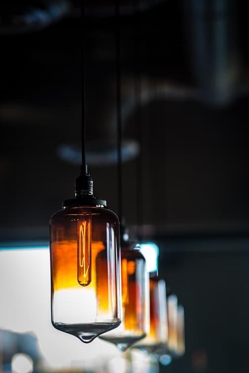 lampara bombillas led retro