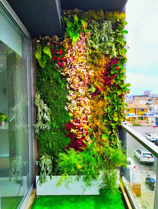 wall decor jardin exteriores pequeños